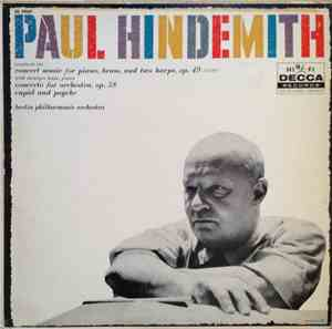 Paul Hindemith, Berlin Philharmonic Orchestra - Concert Music For Piano, Br ...