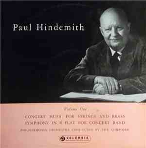 Paul Hindemith Conducting The Philharmonia Orchestra - Volume One: Concert  ...